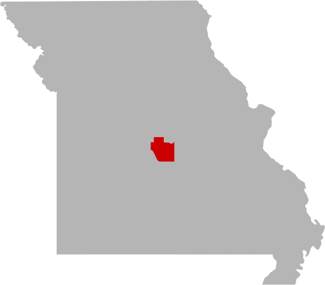 banner Missouri vector. Lake of the ozarks