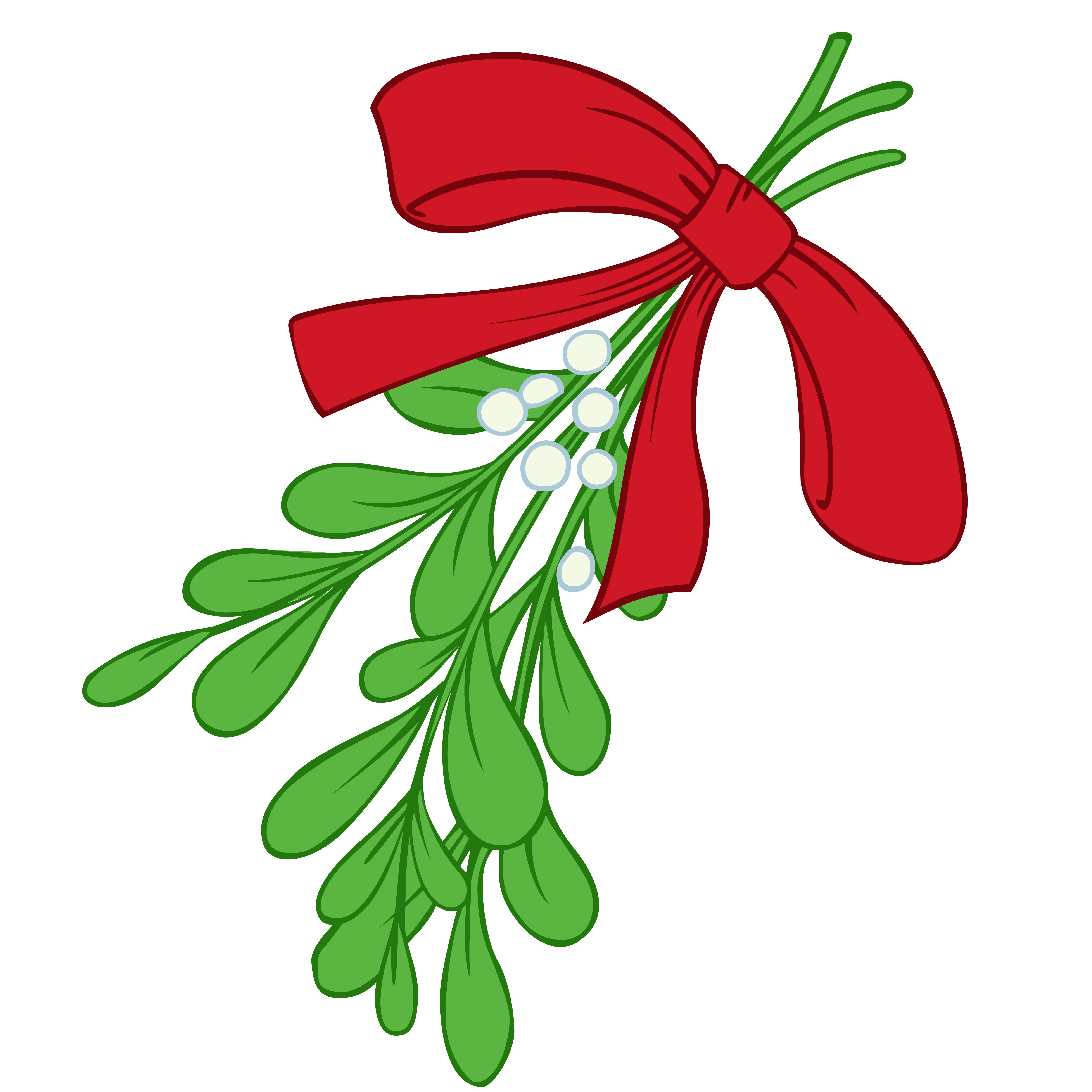 vector library library Free cliparts download clip. Mistletoe clipart.