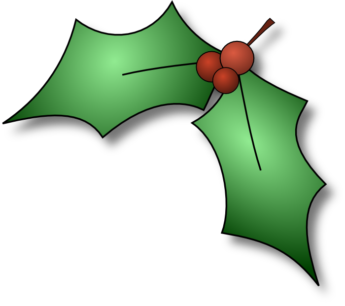 vector download Mistletoe clipart holly sprig. Graphics of christmas wreaths.
