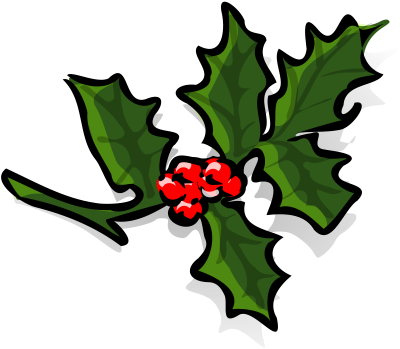 png black and white stock Page clipartaz free collection. Mistletoe clipart holly sprig.