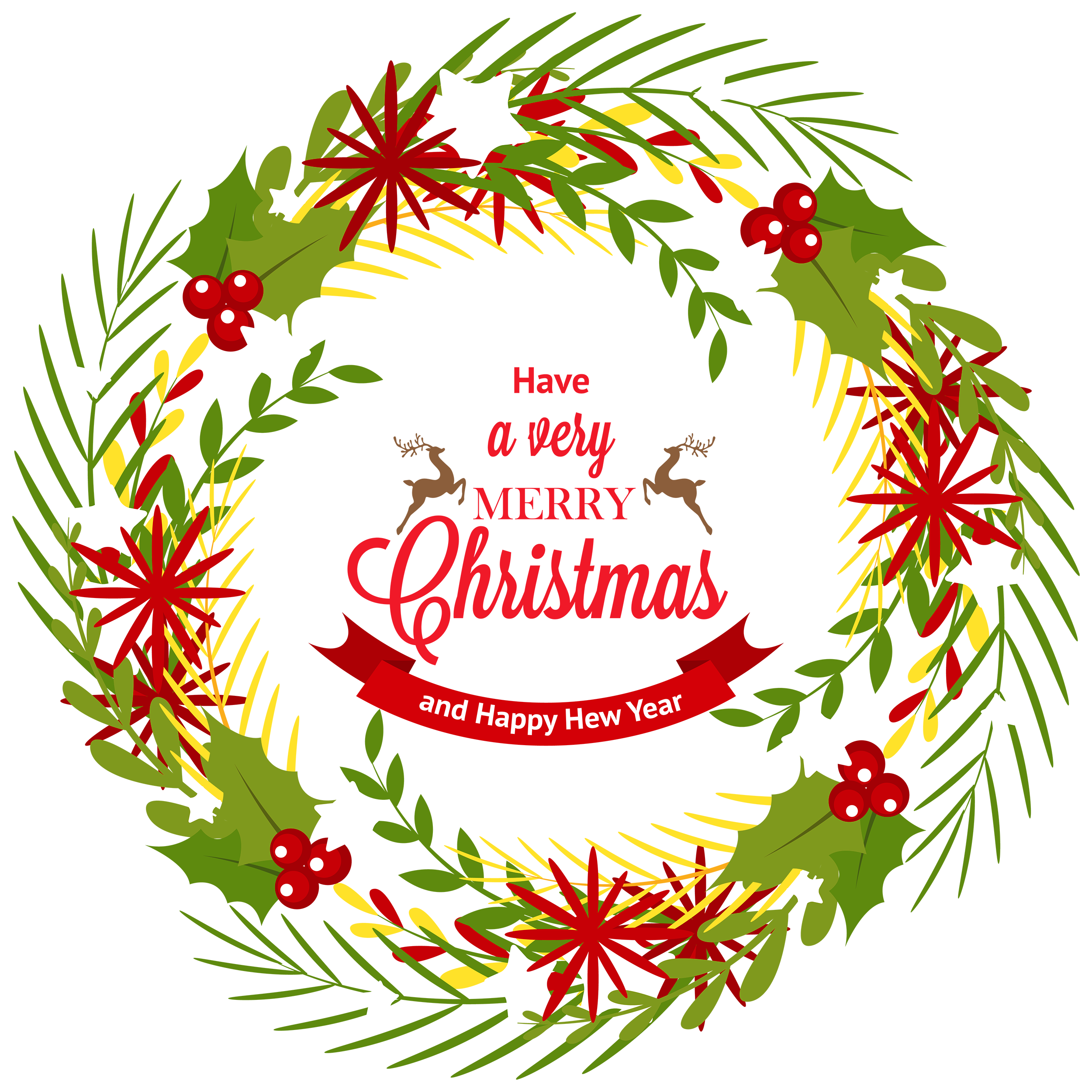 clip transparent download Wreath with png best. Mistletoe clipart merry christmas.