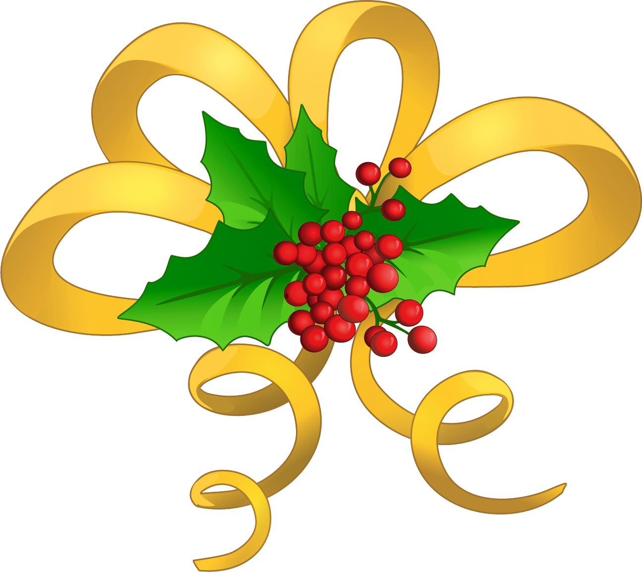 banner royalty free stock Christmas yellow bow with. Archery clipart free.