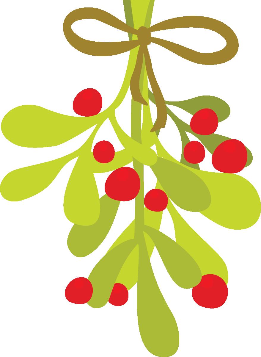graphic transparent download Free cliparts download clip. Mistletoe clipart.