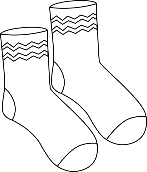 banner stock Mitten Clipart Black And White