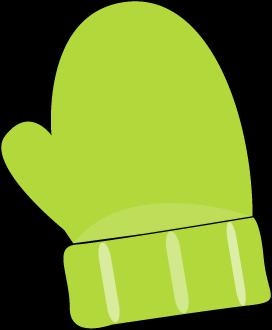 graphic free Mittens . Mitten clipart green.