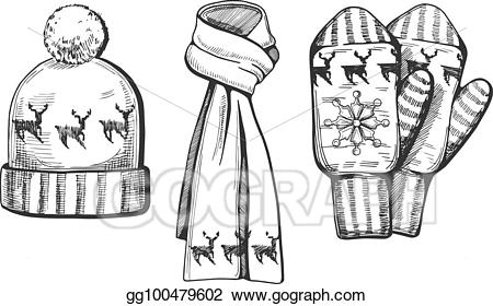 png black and white Mitten clipart items. Clip art vector winter.