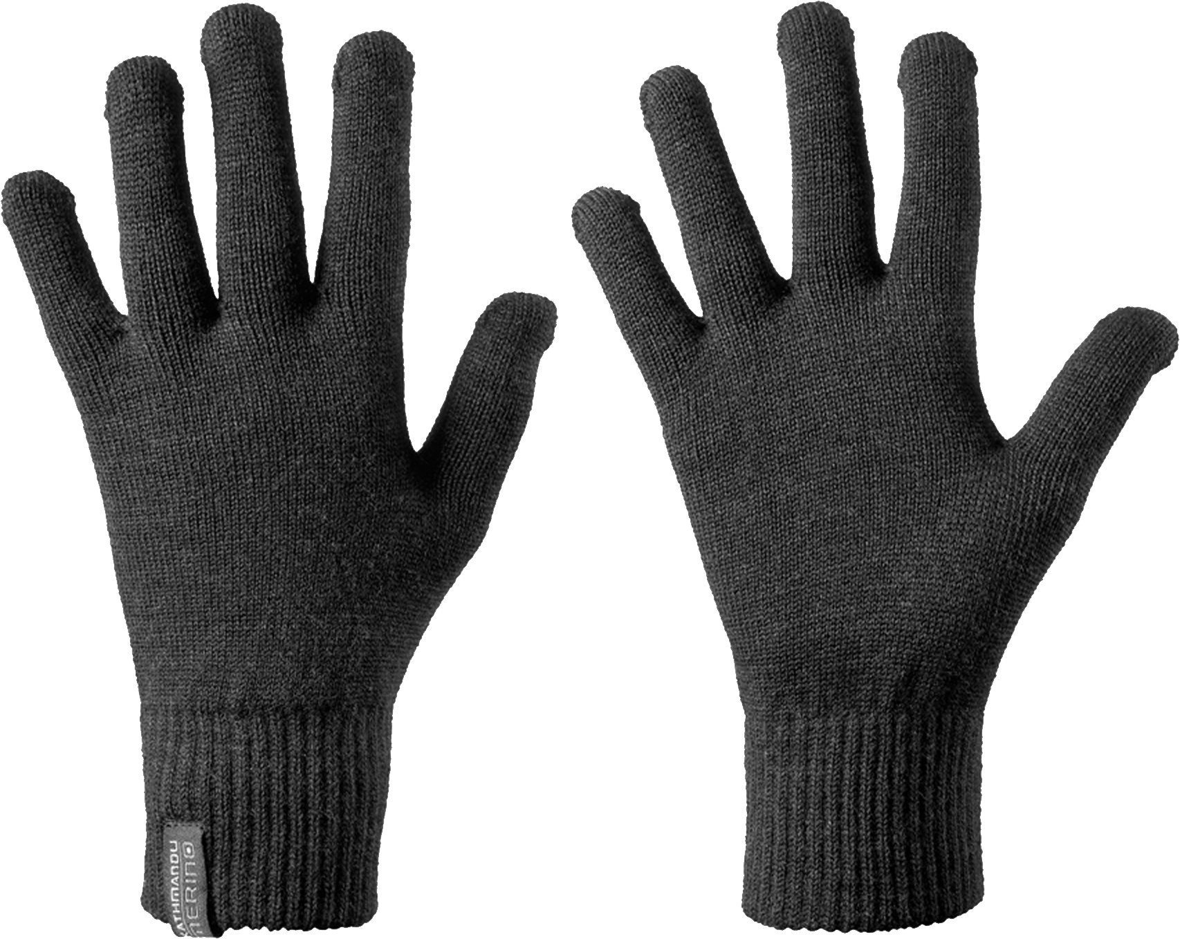 svg black and white stock Mitten clipart transparent background. Simple gloves png image.