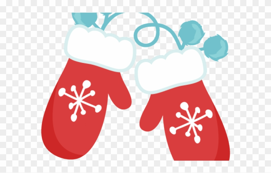clipart library stock Winter red png download. Mittens clipart.