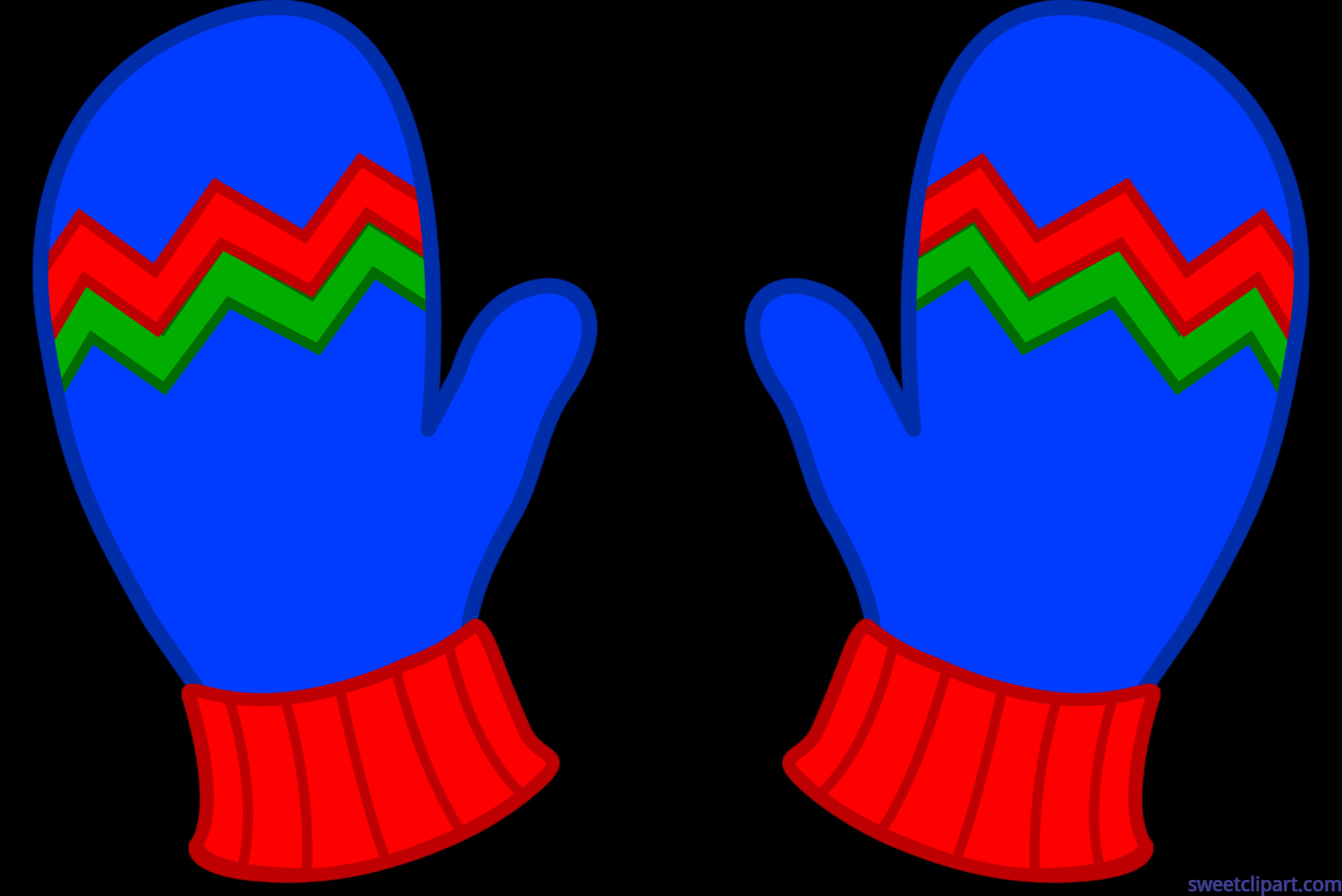picture download Mittens clipart hand glove. Blue winter clip art.