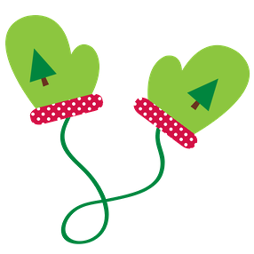 image freeuse stock Christmas clip art. Mittens clipart snowman.