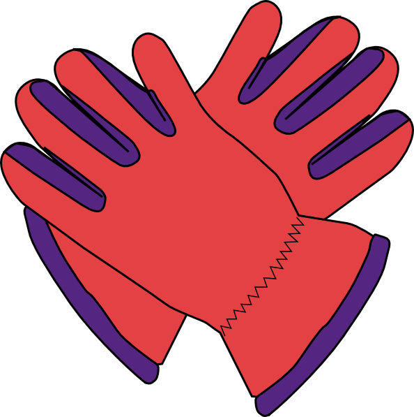 png black and white stock Mittens clipart wear. Gloves purple pinterest and.