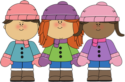 jpg free library Cold weather clothing reminder. Mittens clipart wear.