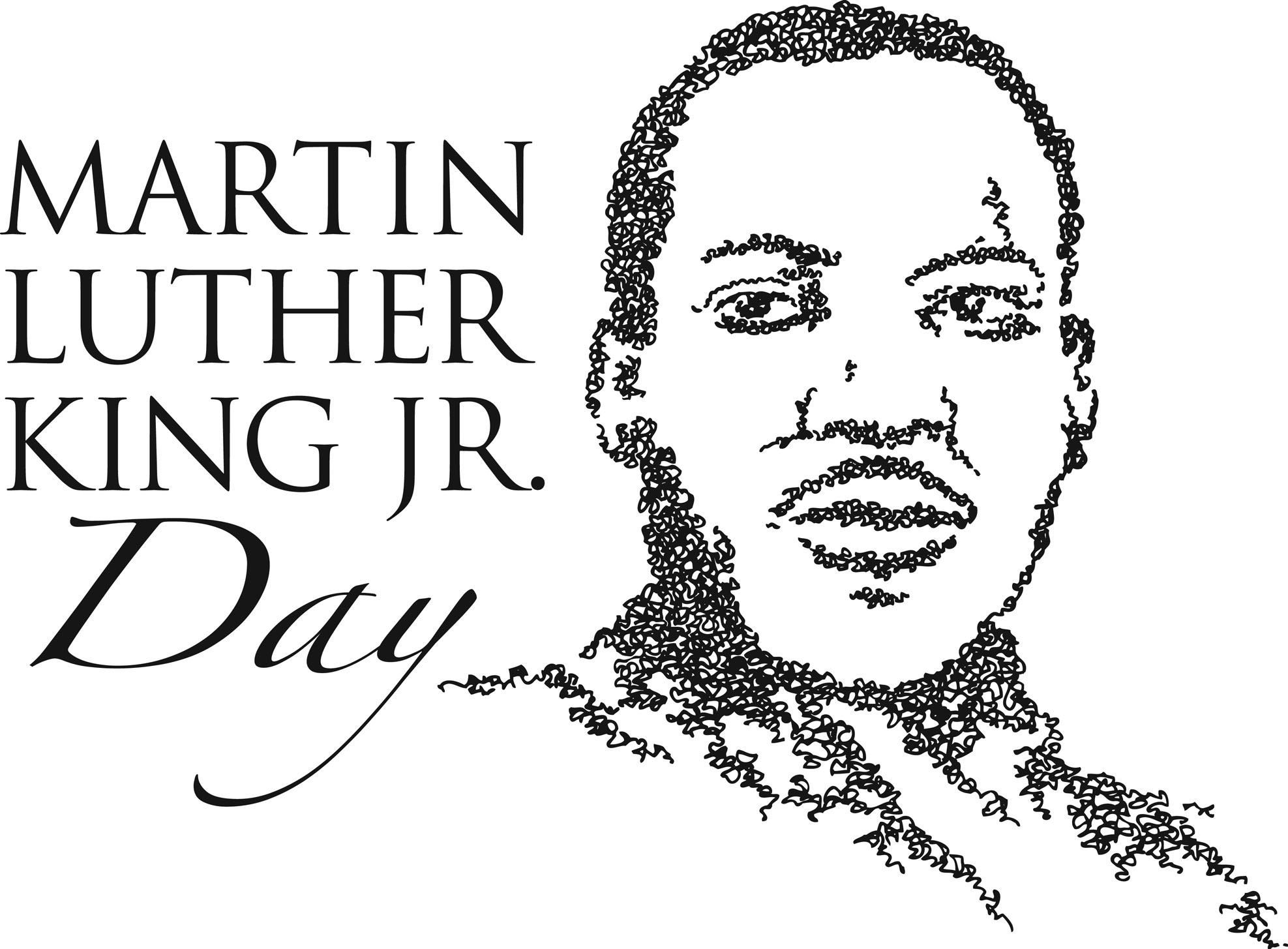free stock King day mlkday mascoutah. Martin luther jr clipart