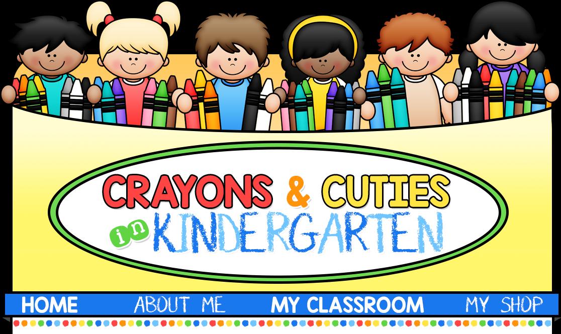image Crayons cuties in kindergarten. Writer clipart word work center