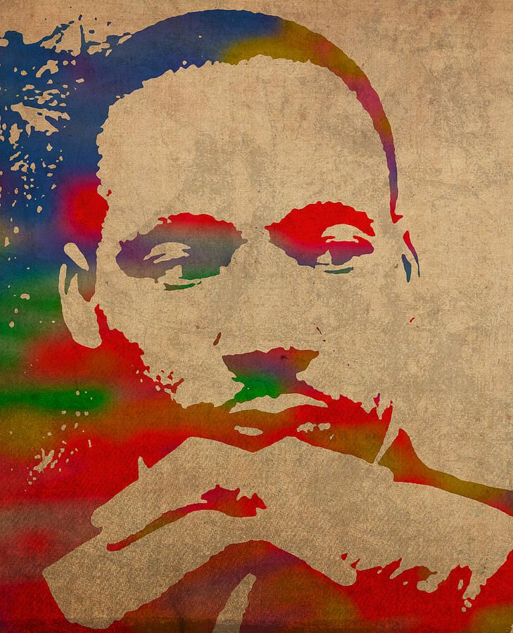 clipart black and white library Pin by martin luther. Mlk clipart painting.