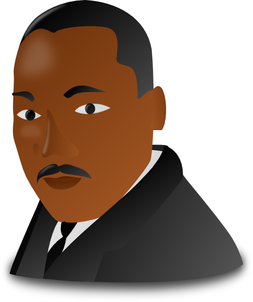 png royalty free stock Mlk clipart painting. Martin luther king cartoon.