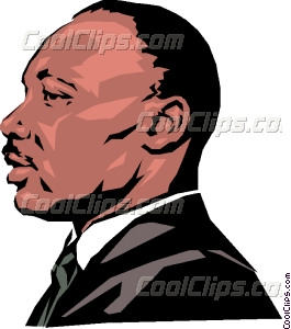 clip art library library Martin luther king vector. Mlk clipart painting.