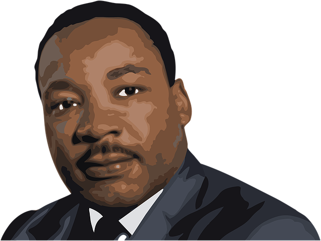 svg library stock Martin luther king jr clipart. Vs malcolm x by