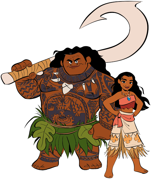 graphic black and white download Moana clipart. Clip art disney galore.