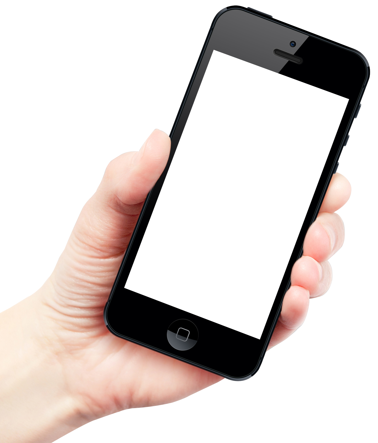 svg freeuse stock Hand Holding Smartphone Apple iPhone PNG Image