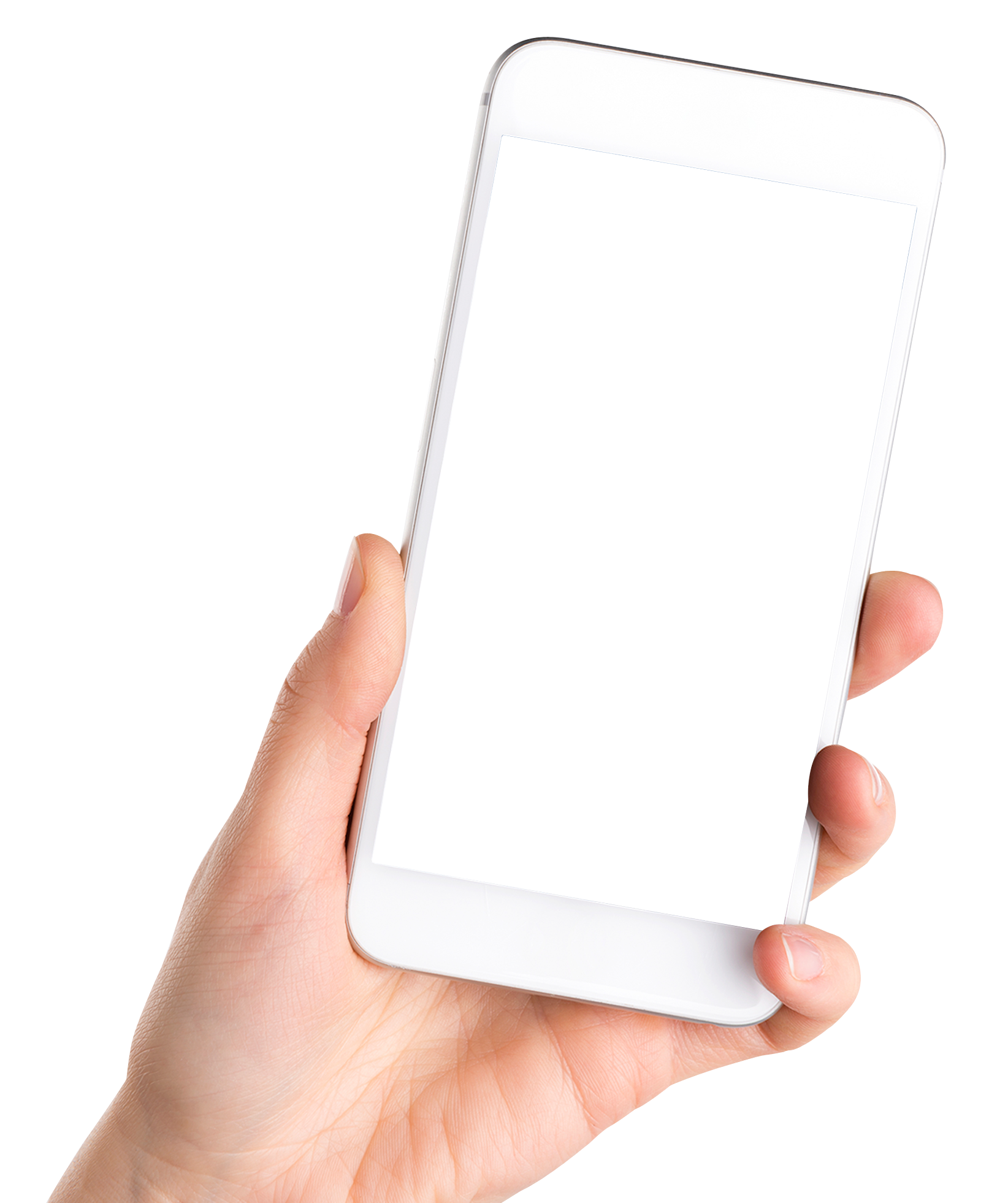 stock Hand Holding Smartphone Mobile Png Image