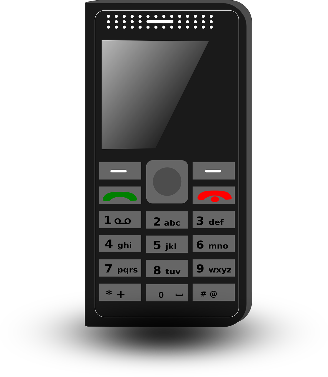 svg freeuse library Mobile clipart simple phone.  collection of old.