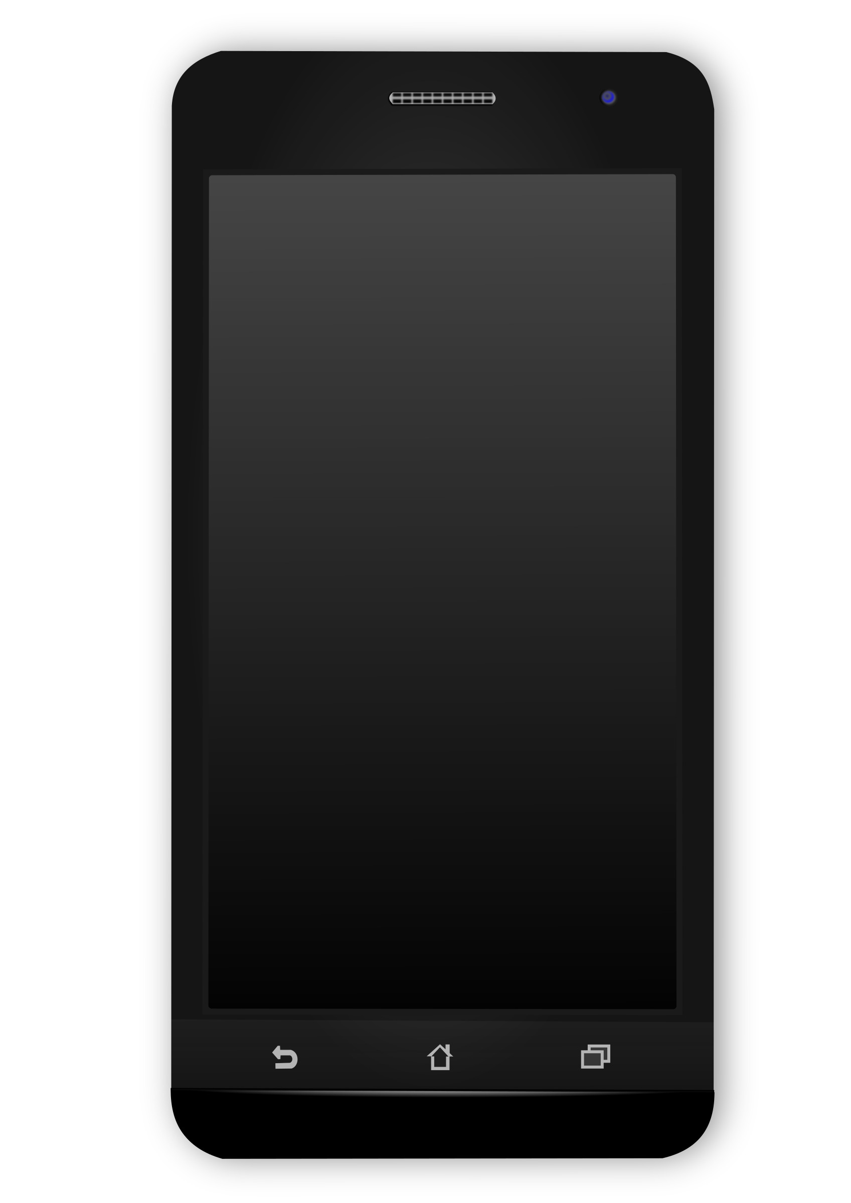 picture freeuse stock Mobile clipart simple phone. Black android icons png.