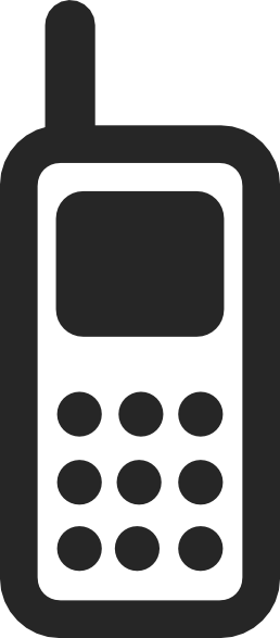 png library library Mobile Phone Icon Clip Art at Clker