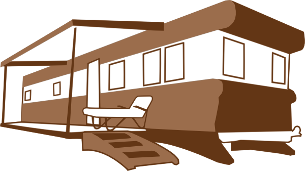 graphic free library Mobile Home Clip Art at Clker