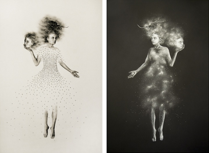 graphic freeuse Mysteriously drawings . Drawing charcoal surreal