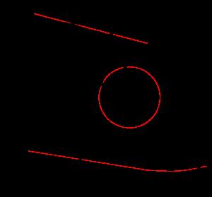 svg black and white pendulum drawing moebius #101113451