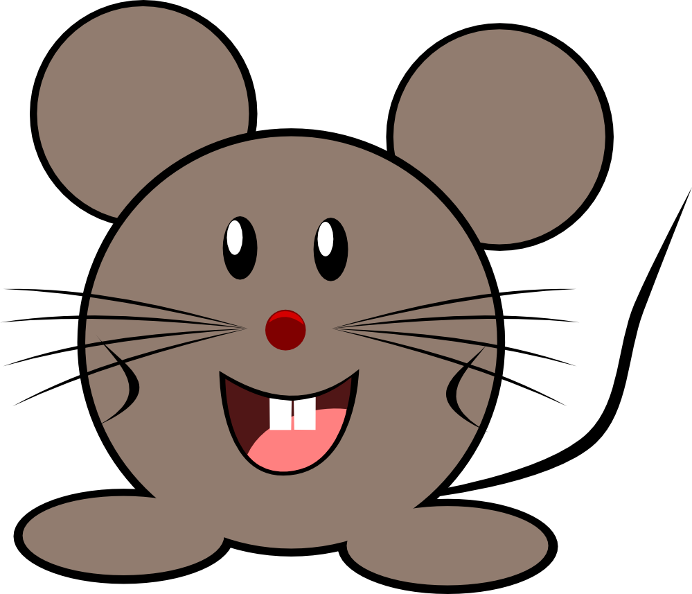 svg free download Cartoon of animals at. Mole animal clipart