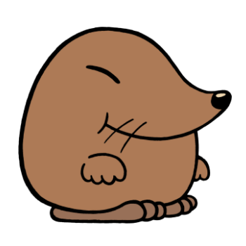 banner free stock Clip art free on. Mole clipart.