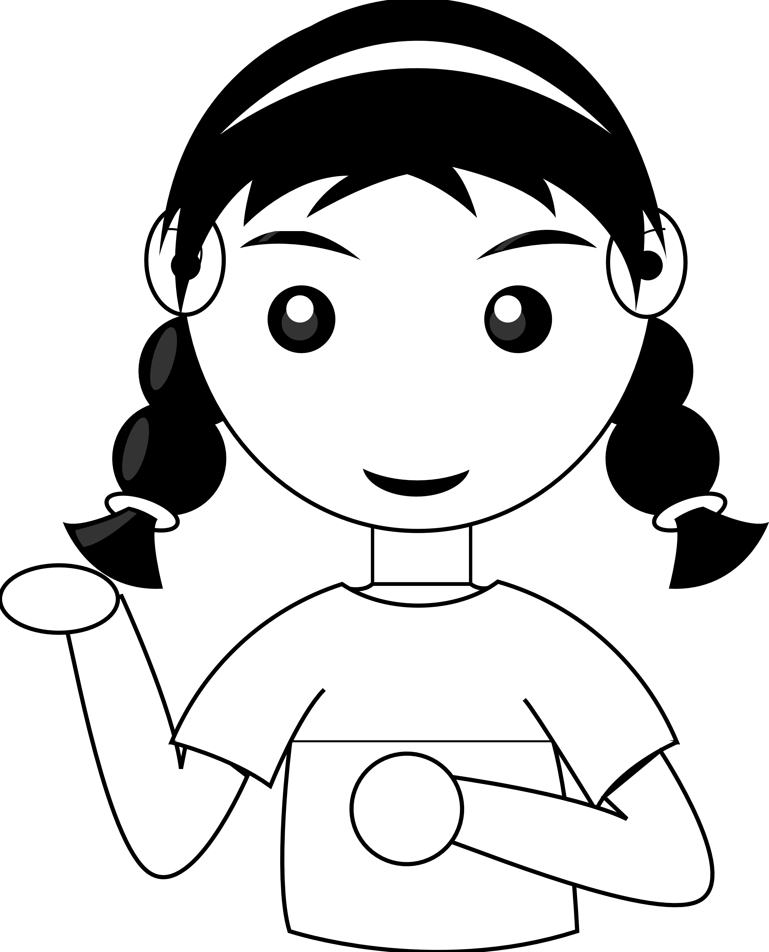 clip stock Mole face free on. Sisters clipart black and white