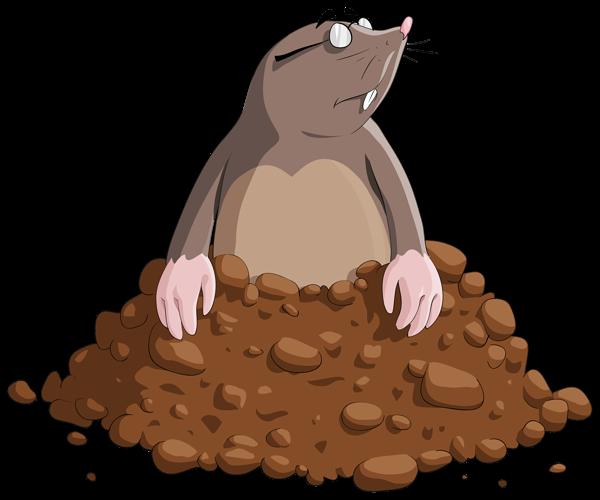 clip library download Mole clipart comic. Cartoon png image digital.