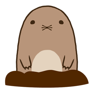banner transparent Mole clipart comic. Pin by nadine on.