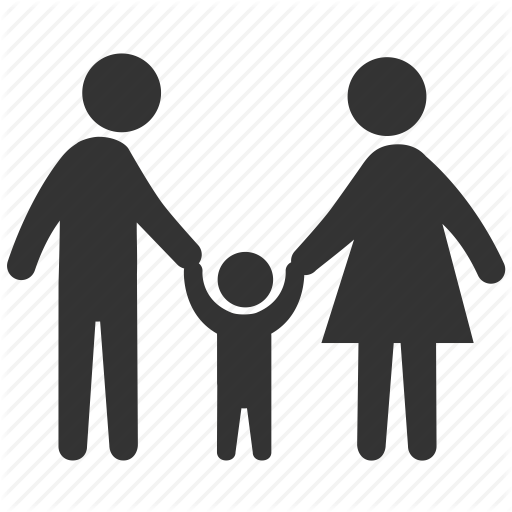 image free Kid png transparent images. Mom and dad clipart black and white