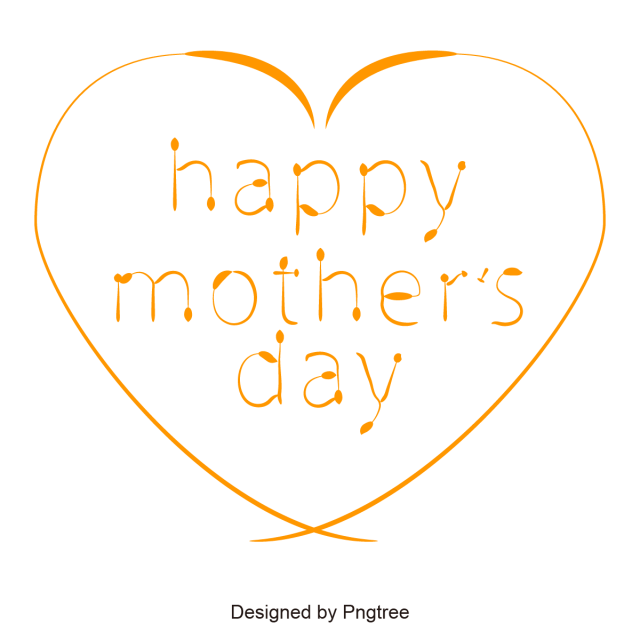jpg transparent library Mom vector mothers day. Happy mother s heart