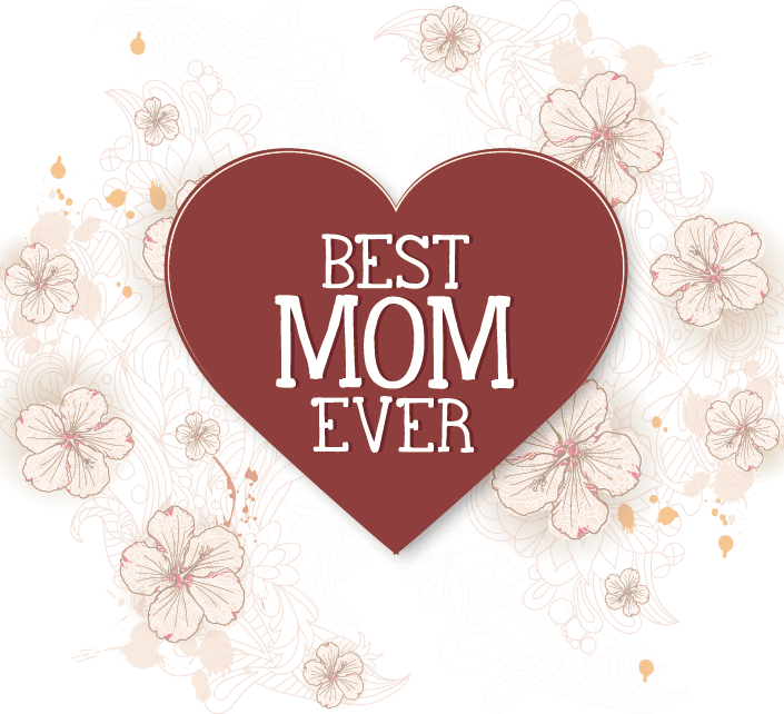 free download Mom vector valentines day. Mother s greetings wish