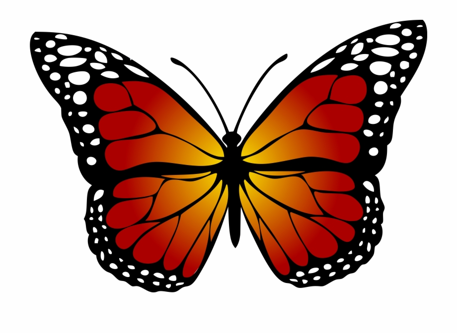 svg free stock Monarch clipart. Butterfly abstract artistic .