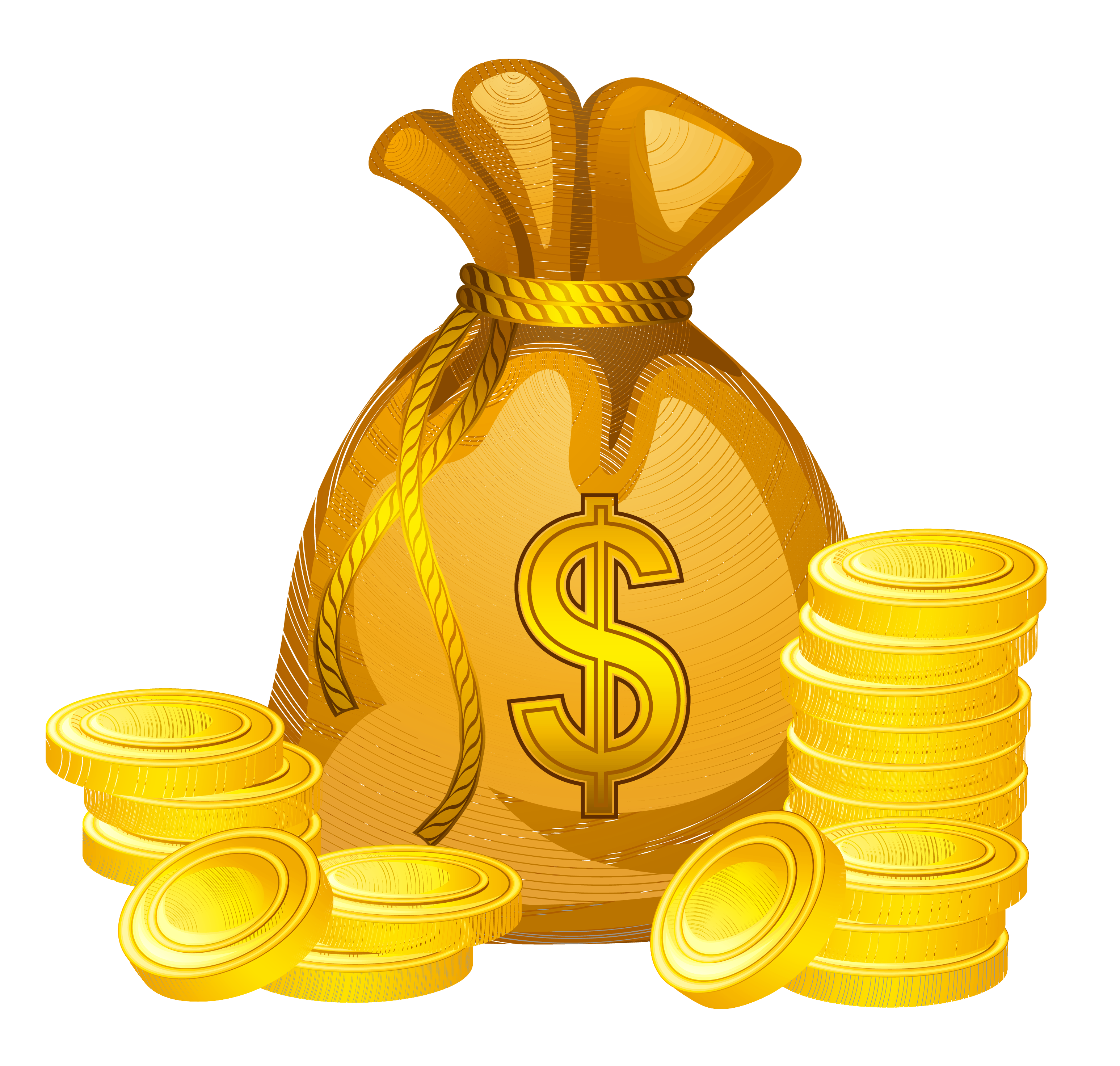 svg black and white library Bag of png picture. Money clipart.