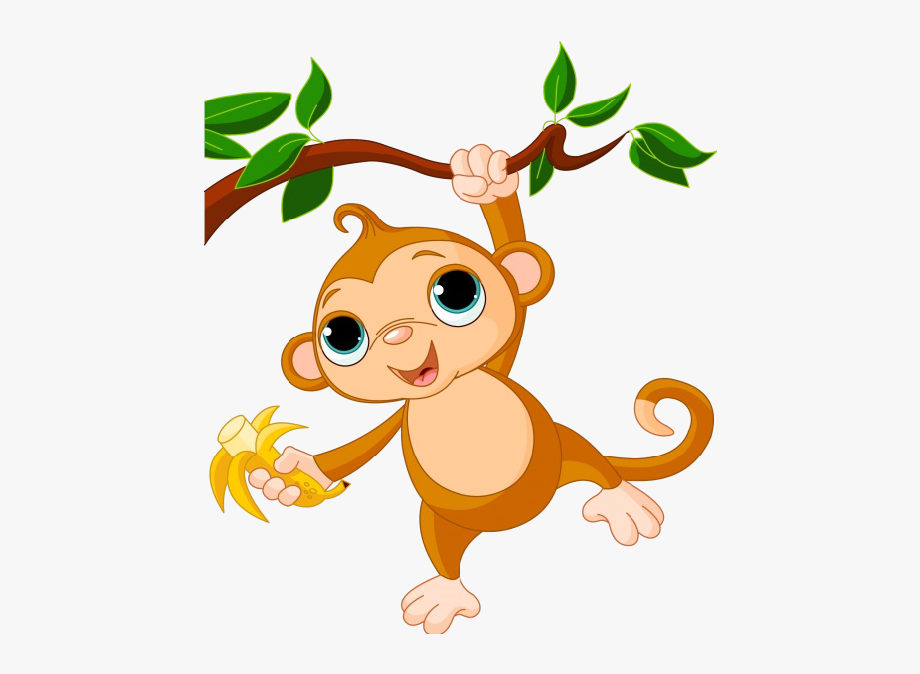 clipart freeuse library Clip art animated free. Monkey clipart
