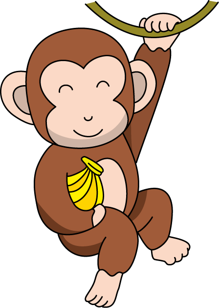 picture library Ape clipart monky. Monkey free clipartix