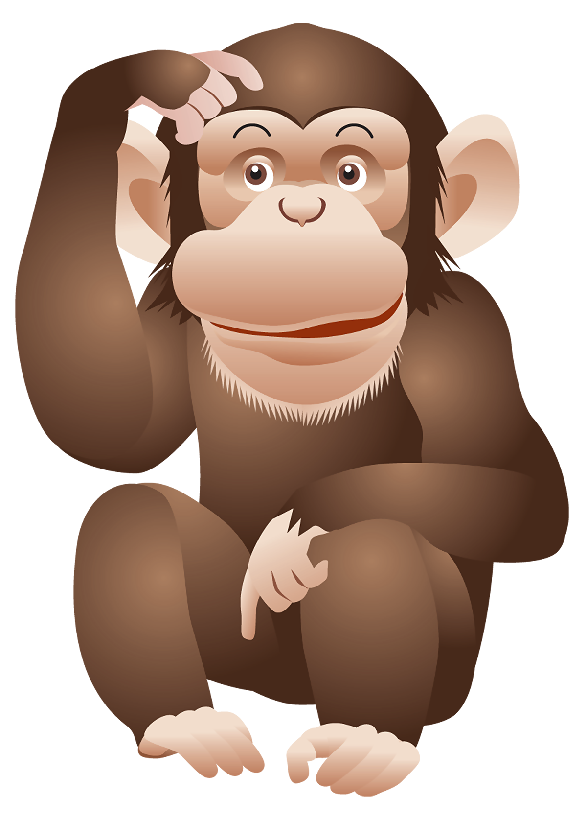 picture free stock Monkey png free images. Ape clipart transparent background