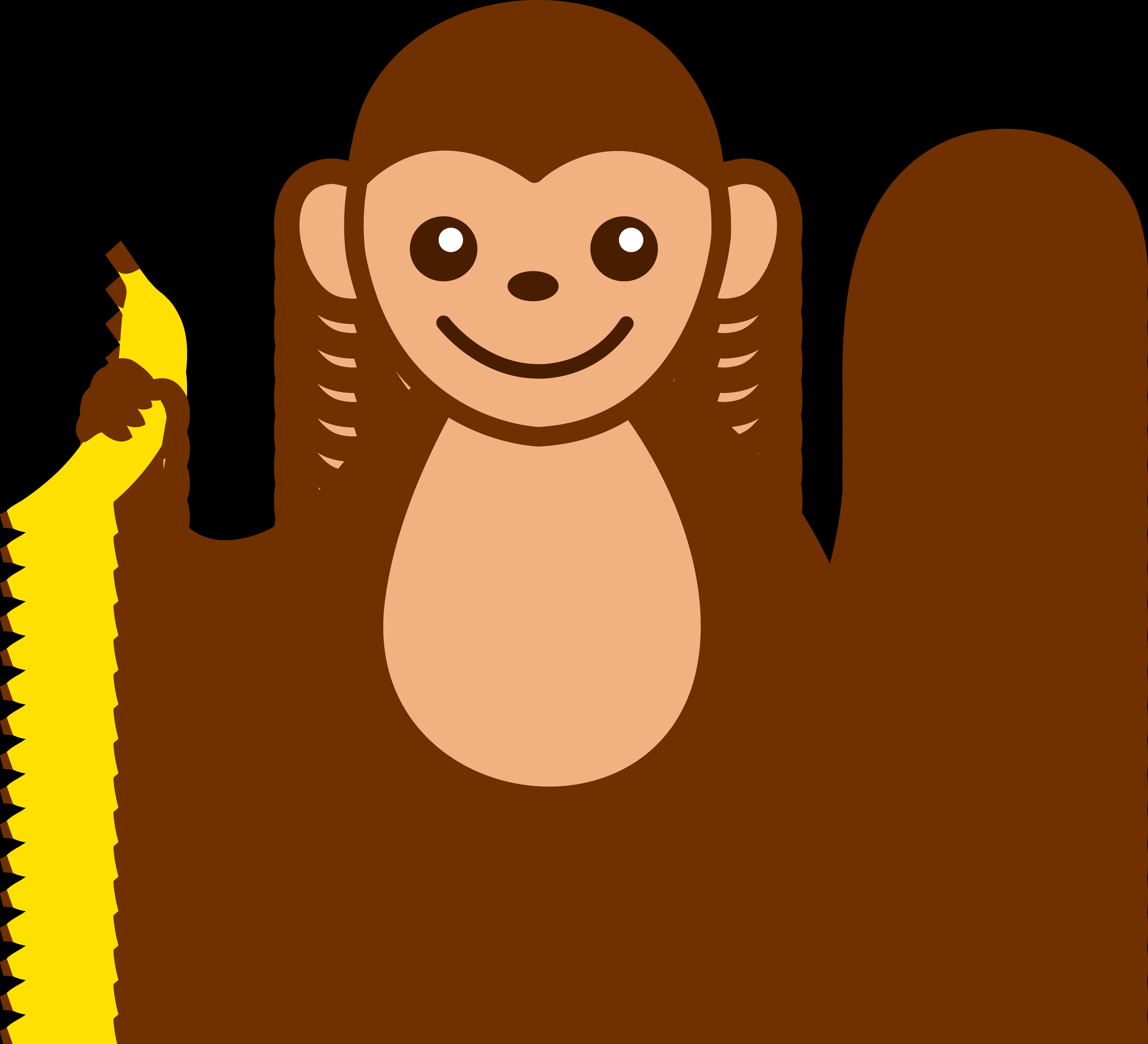 clip freeuse stock Cartoon monkey clip art. Ape clipart animated
