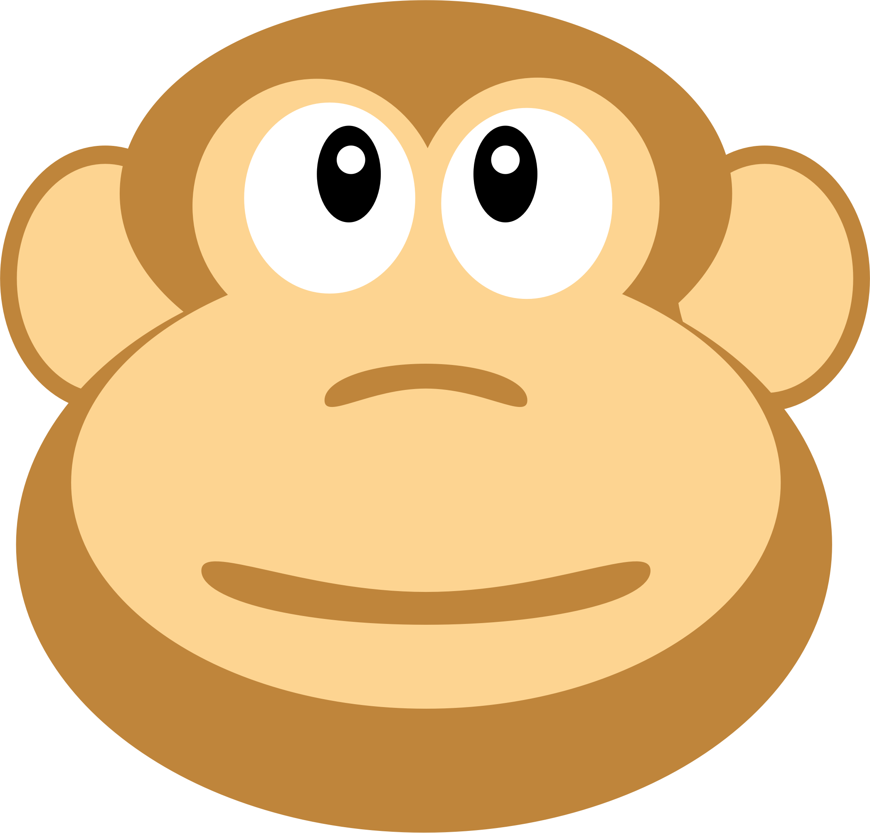 image royalty free stock Ape clipart big monkey. A monkeys head