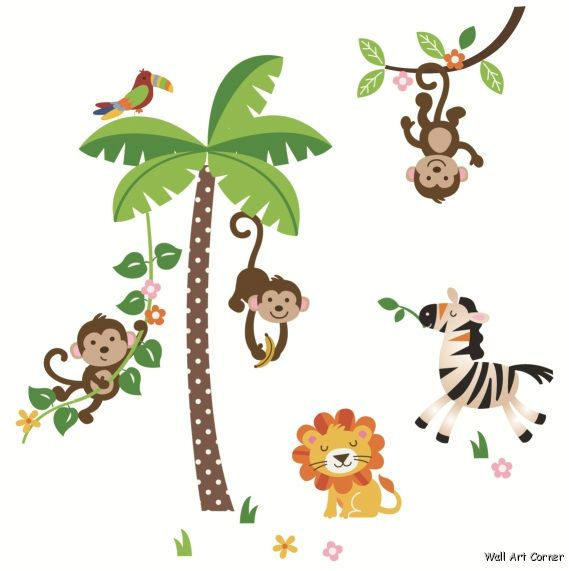 clipart stock Ape clipart tree. Free pictures of monkeys.