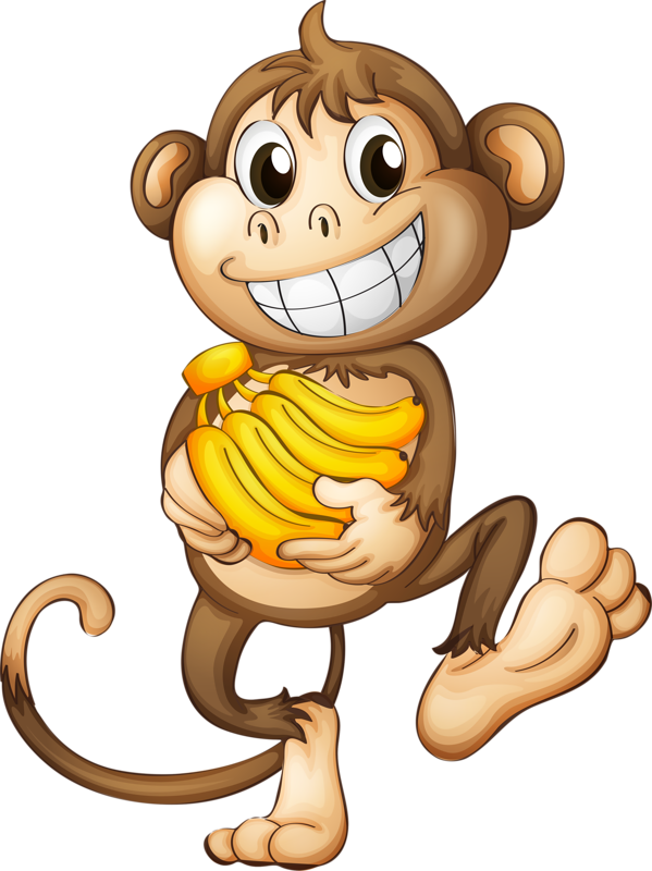 jpg library download ape clipart animated #76185760