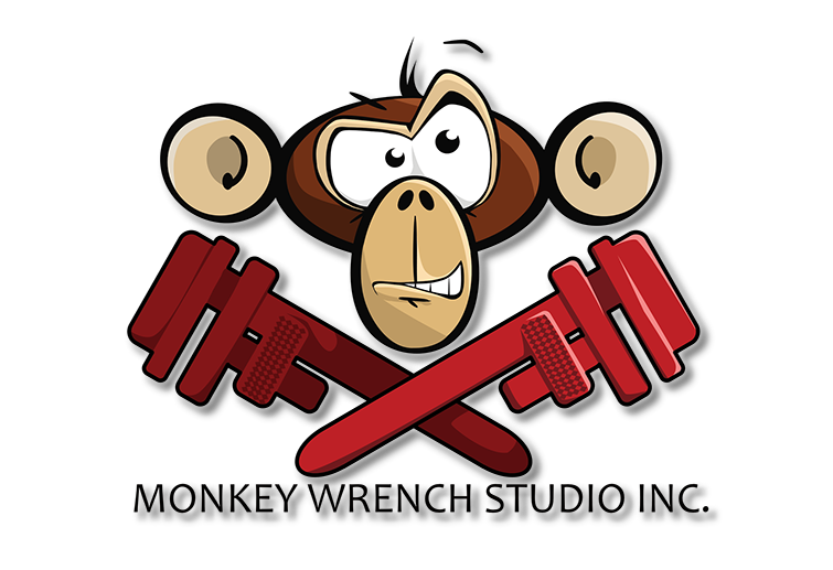 picture black and white stock Home . Monkey wrench clipart