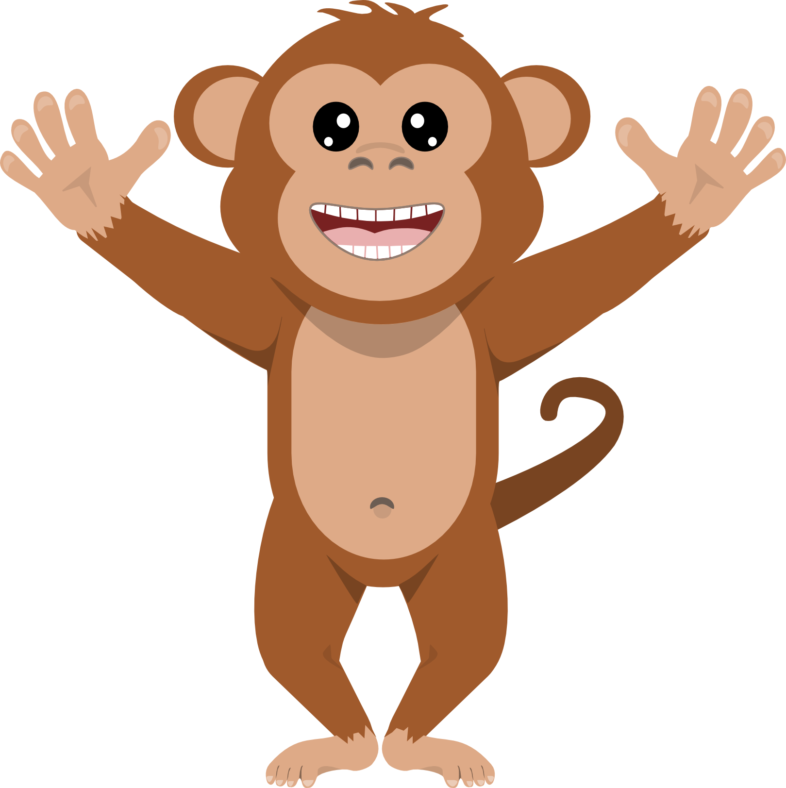 picture transparent library Mixed clip art pinterest. Monkeys clipart